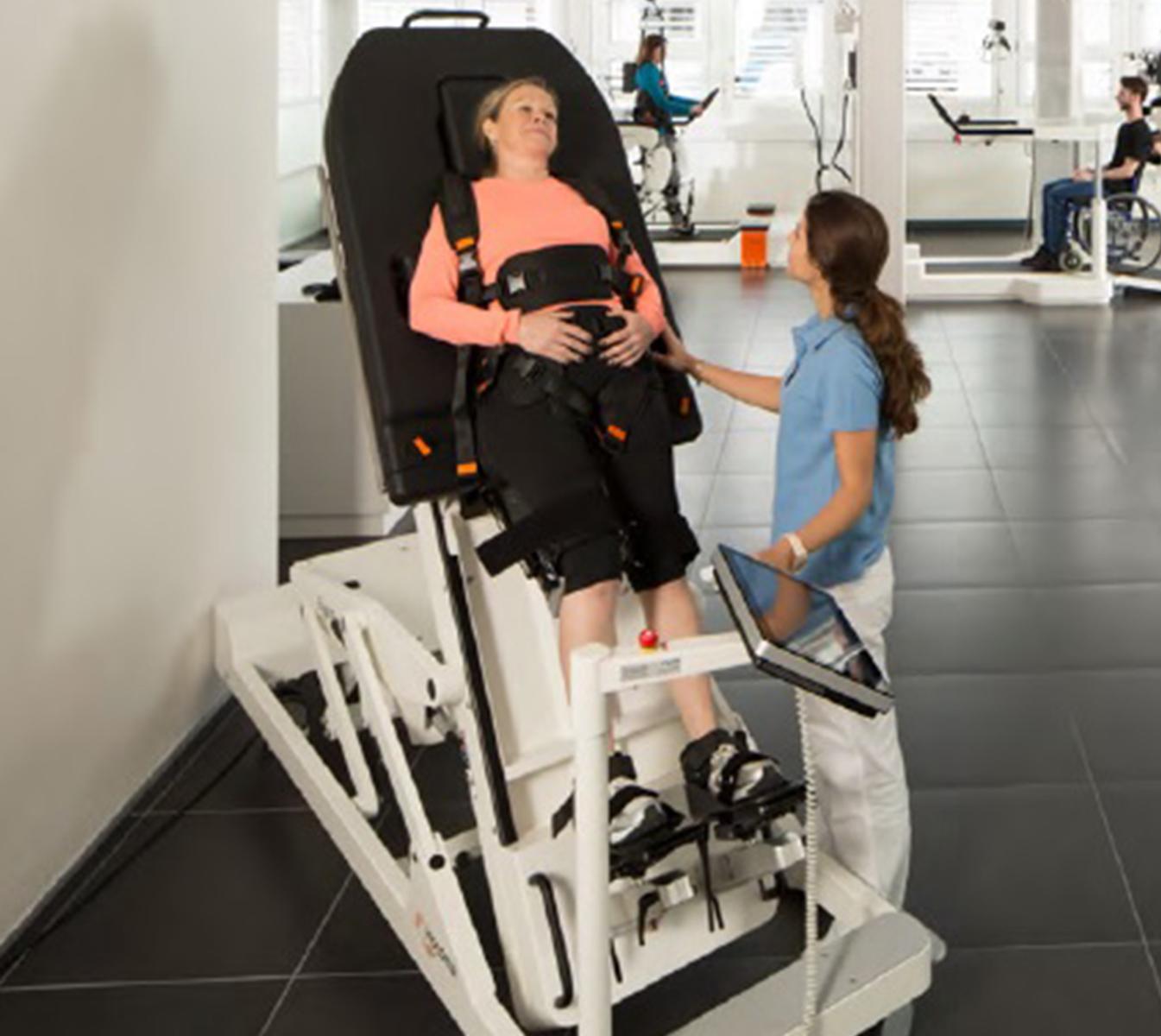 Erigo (Hocoma) Neuroriabilitazione e Robotica