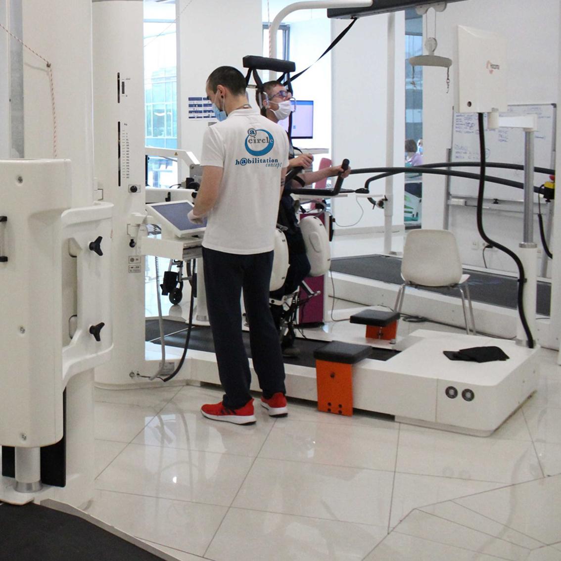 installazione - a circle riabilitazione robotica idroterapia