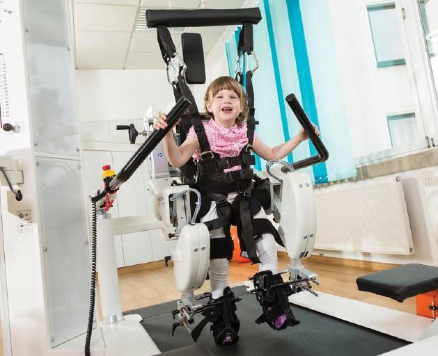 Lokomat di Hocoma modulo pediatrico Neuroriabilitazione e Robotica