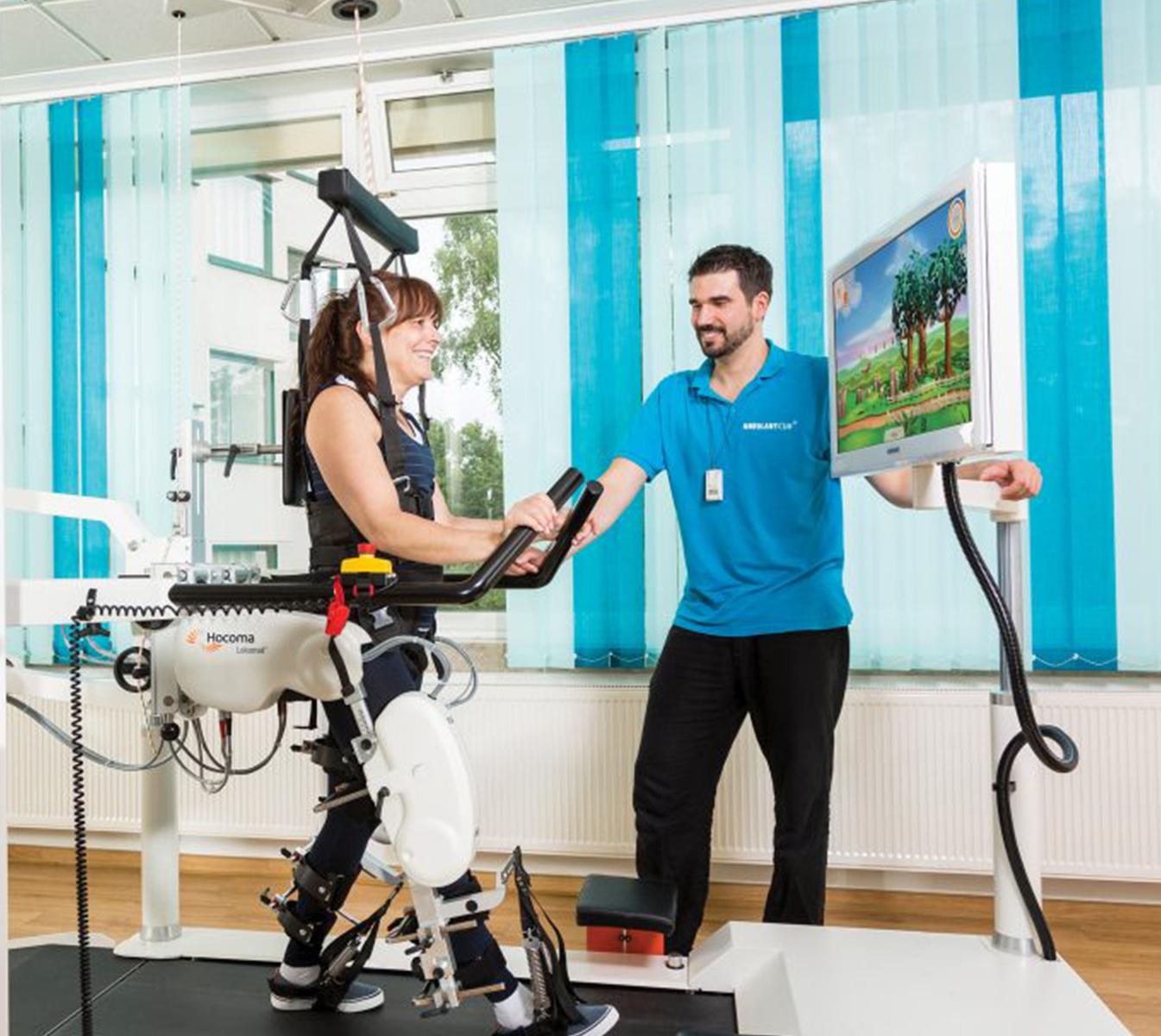 Lokomat di Hocoma Neuroriabilitazione e Robotica